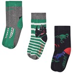 Joules Pack of 3 Brilliant Bamboo Dino Socks