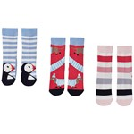 Joules Pack of 3 Brilliant Bamboo Dog & Puffing Socks
