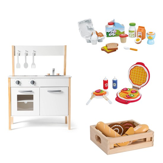 Stoy Wood Kitchen Scandinavian Classic and Breakfast Sets