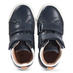 Bisgaard Jacob Velcro Shoe Navy