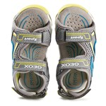 Geox J Sandal Android Boy Grey/Lime