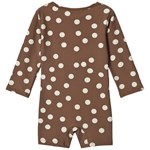 Kuling UV Suit Paros Dot Chocolate Brown