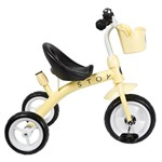 STOY Tricycle Light Yellow