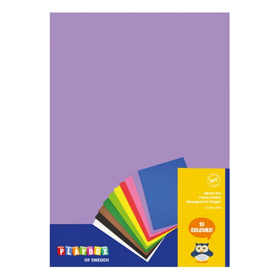 Playbox Soft sheets 10pcs