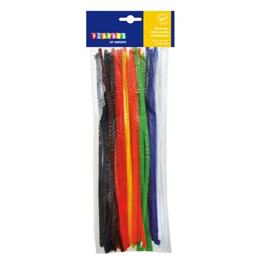 Playbox Pipe cleaner base colors 50pcs