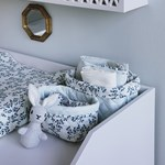 Cam Cam Quilted Storage Basket Set of Two Fiori