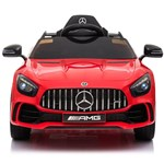 Elite Toys Mercedes AMG GTR with Rubber Tires 12V Red