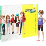 Creatable World Deluxe Character Kit, Strawberry Blonde Hair