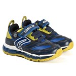 Geox Android Sneakers Navy/Lime
