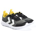 Hummel Black & Yellow Actus Trainers