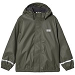 LEGO Wear Lw Jipe Rain Jacket Dark Green