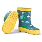 Frugi Blue Nessie Puddle Buster Wellington Boots