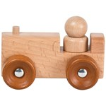 Wood Little Wooden Retro Cars - Tractor
