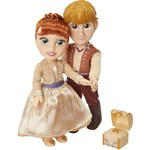 Jakks Toddler Doll Anna and Kristoff Gift Set