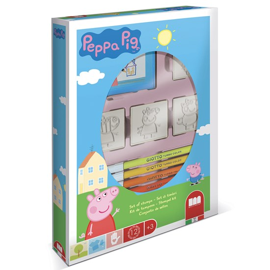 Peppa Pig Creative Coloring Stamp Lelusarja