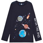 Joules Wardell Space T-paita Navy Space