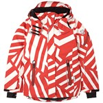 Reima Reimatec Winter Jacket Frost Aop Tomato Red