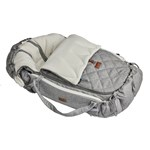 Najell Winter Cover Footmuff Morning Grey