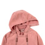 Kuling Livigno Wind Fleece Haalari Strawberry Cream