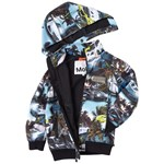 Molo Cloudy Soft Shell Jacket Fast Cars Blue