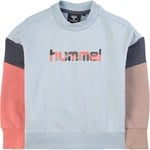 Hummel Blue Colour Bloch Sweatshirt